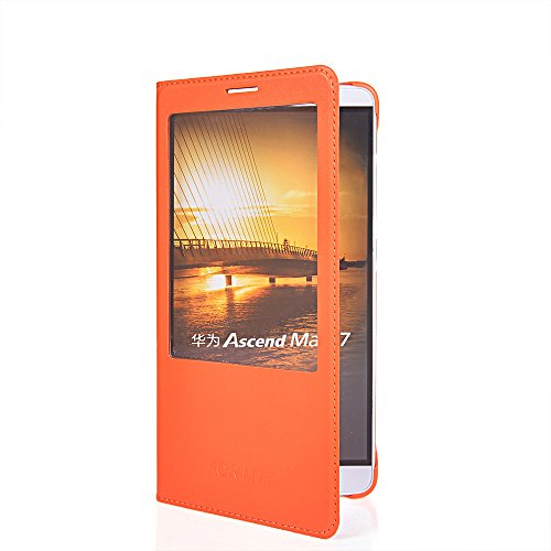 ascend-mate-7-hullecoolke-orange-flip-cover-fur-huawei-ascend-mate-7-dunn-schutzhulle-hulle-schutzsc