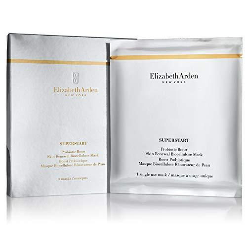 Elizabeth Arden Superstar Probiotic Biocellulose Mask,4 Stücke - Skin Renewal Booster