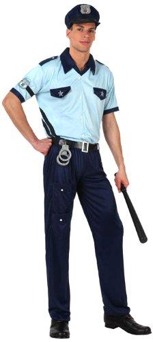 Herren - M / L (Polizei Kostüm)