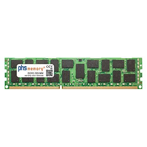 PHS-memory 16GB RAM Speicher für Lenovo ThinkServer RD340 Rack DDR3 RDIMM 1600MHz PC3L-12800R ((16gb Rack-server)