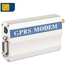 OSTENT GSM//GPRS//Edge//WCDMA//UMTS//HSDPA 3.5G Modem mit SIMCOM SIM5216E Modul COM//RS232//Serielle Schnittstelle at Befehle Massen SMS MMS TCP//IP