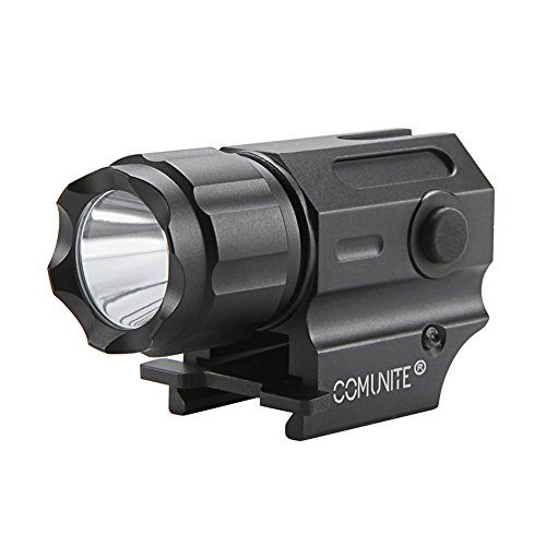 Comunite G03 Rail Mount Tactical Weapon Light 600 Lumen LED. Ideale Per Picatinny e Glock-type Rotaie Per una Facile Installazione e Rimozione