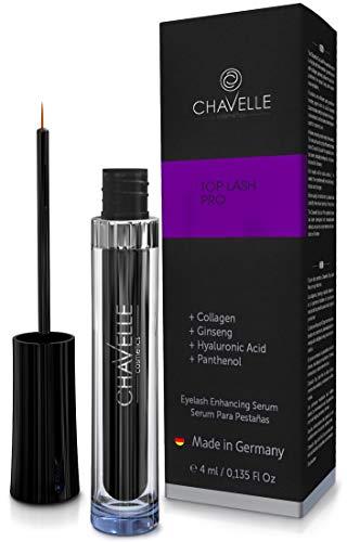 Wimpernserum stärkeres Wimpernwachstum und Augenbrauenwachstum - Top Lash Pro 4 ml für lange...
