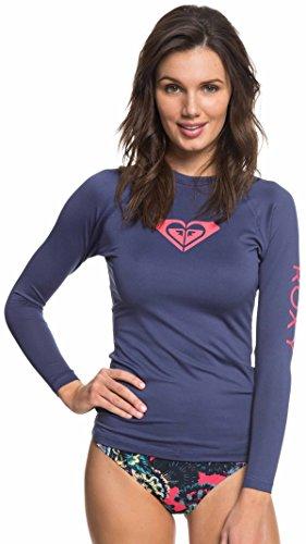 Roxy Damen Wholehearted LS J Sfsh BRE0 L/Sl Surf Tee, Deep Cobalt-Solid, L
