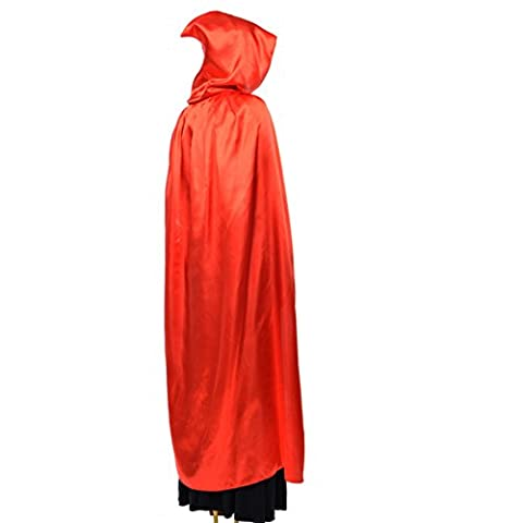 halloween capes adult cosplay cloak of death child cloak cloak with cap performance costume-E