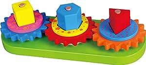 Viga Toys - 59611 - Jeu De Construction - Formes Géométrique À Empiler