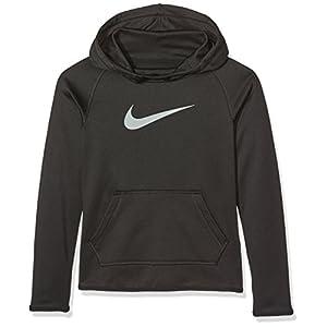 Nike Mädchen Sweatshirt G Nk thrma Po All Time