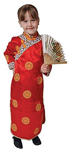 Imagen de dress up america  disfraz de geisha para niñas, 3 4 años 212 t