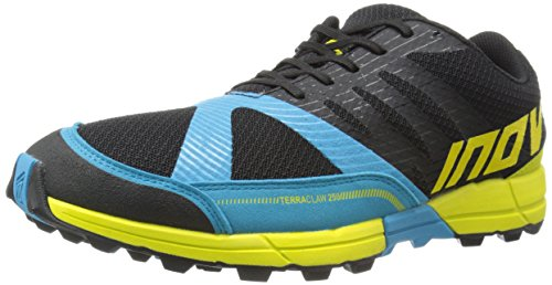 INOV8 Terraclaw 250 Zapatilla de Trail Running Caballero, Negro/Azul/A