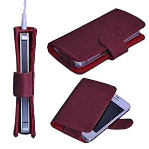 DSR Pu Leather case cover for Dell Mini 3i