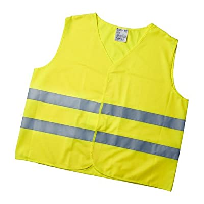 IKEA PATRULL Warnweste, Gelb, Größe L (Europanorm EN 1150)