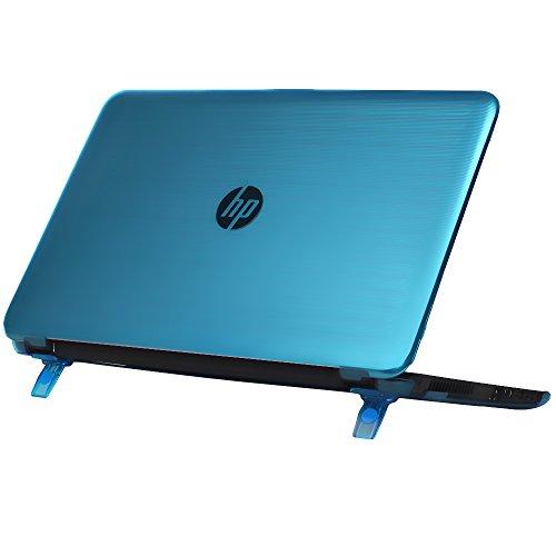 """Coque mCover pour les HP 15-auXXX (15-au000 - 15-au999) et HP 15-awXXX (15-aw000 - 15-aw999) (15.6"""" Pavilion 15-auXXX séries, Aqua)"""