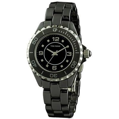 TIME FORCE Reloj Analógico para Mujer de Cuarzo con Correa en Cerámica TF-4184L01M de TIME FORCE