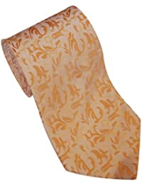 NEW MENS WEDDING TIE. NECKTIE. BRIDAL. AVAILABLE IN 9 COLOURS. STUNNING EMBROIDERED PATTERN *UK SELLER*