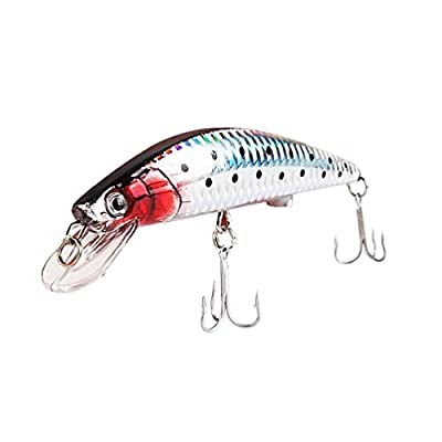 Moving Fishing Lures, USB Rechargeable LED Light Twitching Fishing Lures Bait Recharging Cords Bass Trout Salmon Tackle Freshwater Saltwater from Dinglong