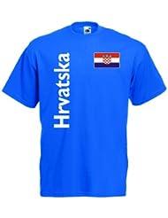 Hrvatska / Kroatien Herren T-Shirt Trikot