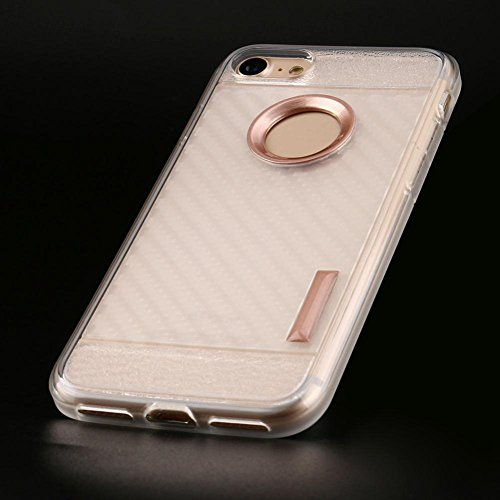 Ouneed® Für iPhone 7 Hülle, Thin Soft Protection Silicone Gel Case Cover For IPhone 7 4.7 Zoll (Gold) Roségold