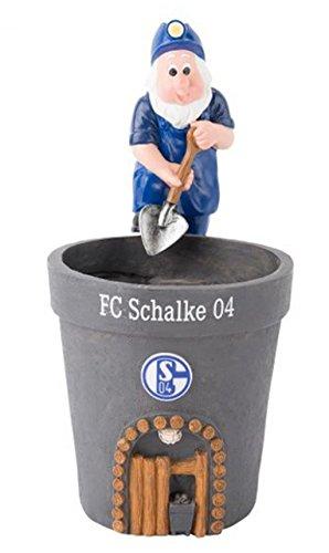 FC Schalke 04 Blumentopf Zwerg, Gartenzwerg