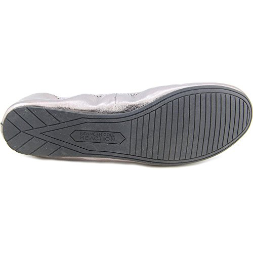 Kenneth Cole Reaction Whole Some Femmes Cuir Ballerines Pewter