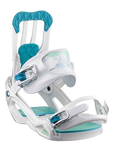 Salomon Damen Snowboardbindung weiß M