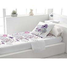 Juego de cama 3 piezas ELISE blanco