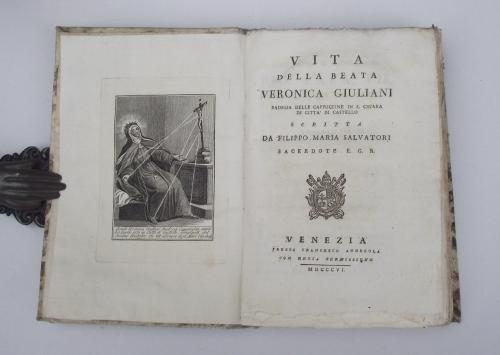 Vita della beata Veronica Giuliani badessa delle cappuccine in S. Chiara di Citt di Castello