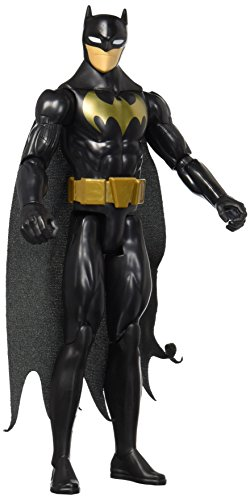 Mattel DWM50 - DC Justice League Basis-Figur Stealth Shot Batman, 30 (Kinder Und Robin Batman Kostüme)
