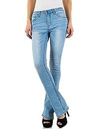 iTaL-dESiGn - Vaqueros - Pantalones Boot Cut - para mujer