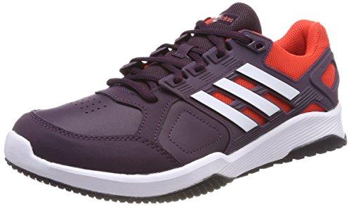 adidas Herren Duramo 8 Trainer Gymnastikschuhe, Rot (Noble S18/Ftwr White/Hi-Res Red S18), 44 EU