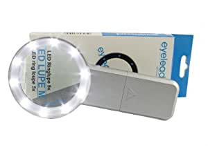 Eyelead 5x magnifiying glass with LED / DSLR sensor loupe for Canon, Nikon, Pentax, Olympus, Sony, Panasonic