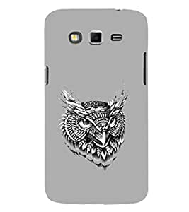 EPICCASE terrific owl Mobile Back Case Cover For Samsung Galaxy Grand Max & Grand 3 (Designer Case)
