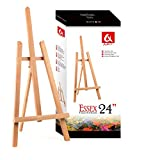 "BEECH WOOD 600MM 24"" HIGH ARTIST TABLE TOP DISPLAY EASEL - BEST EUROPEAN QUALITY"