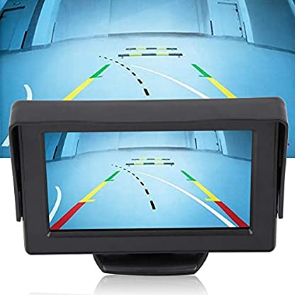 Rckfahrkamera-fr-Auto-Nachtsicht-kabellos-Rckfahrkamera-und-43-Zoll-TFT-LCD-Monitor-Kit