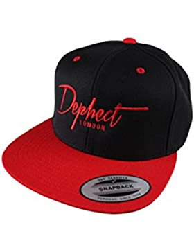 DEPHECT Gorra Descriptive Negro / Rojo