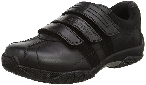 Hush Puppies Jungen Seb Junior Slipper, Schwarz (Black), 325 EU