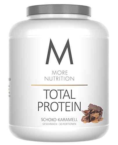 Karamell-protein (More Nutrition Total Protein - Whey & Casein Zur Optimalen Proteinsynthese 1 x 1500 g (Schokolade Karamell))