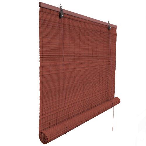 Victoria M. Bambusrollo 150 x 220 cm in kirsche - Fenster Sichtschutz Rollos