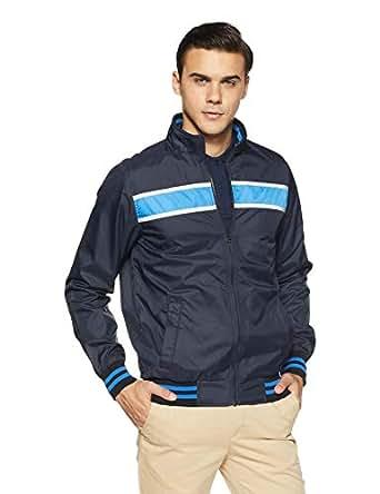 Allen Solly Men's Jacket (ASJKOBOPI71446_Navy_M)