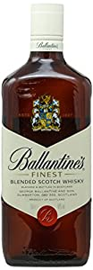 Whisky Ballantines with cork by -