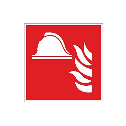 Brandschutzaufkleber