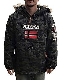 Geographical Norway Chaqueta de Esqui para Hombre Color Camuflage Kaki