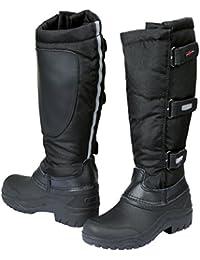 Botas de montar térmicas, negro, con caña extraíble