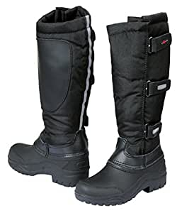 Covalliero Kid's Thermal Riding Boots - Black, Size 26