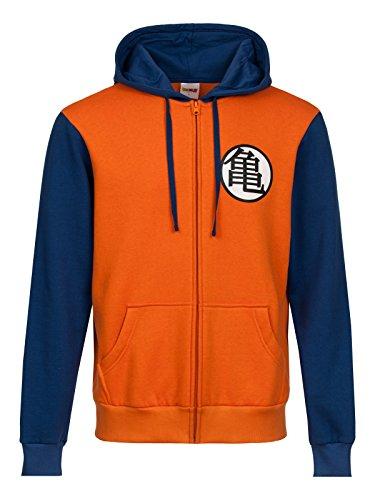 Dragon Ball Z Symbols Felpa jogging arancione/blu S