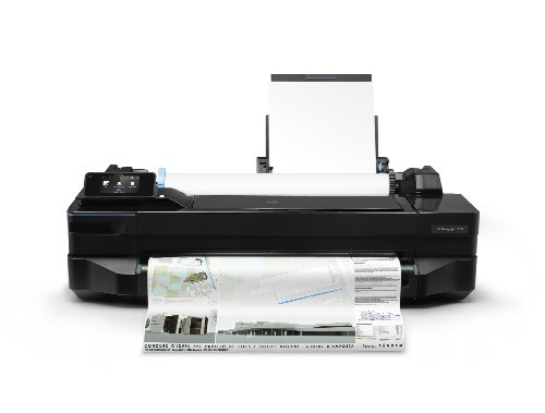 HP Designjet T120 ePrinter Series Großformatdrucker (61 cm (24 Zoll), 1200×1200 dpi, WiFi, USB 2.0) schwarz - 2