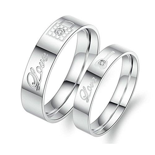 bishilin-2pcs-set-acier-inoxydable-argent-key-lock-love-grave-couple-anneau-alliances-mariage-bague-