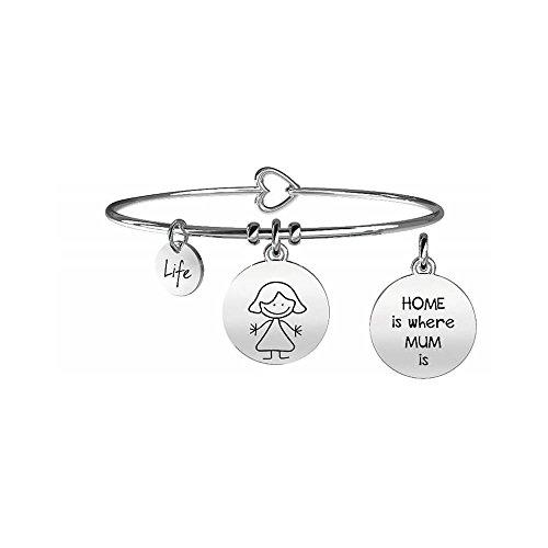 KIDULT LIFE Collection Bracciale in acciaio MAMMA 231564