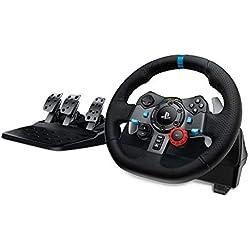Volant de course Logitech Driving Force G29 pour PS4, PS3 et PC + Pédales