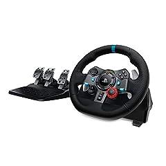 Idea Regalo - Volante da Corsa Logitech G29 Driving Force per PS4, PS3 e PC