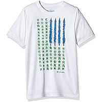 Columbia Camp americana maglietta, Ragazzi, Camp Americana, bianco